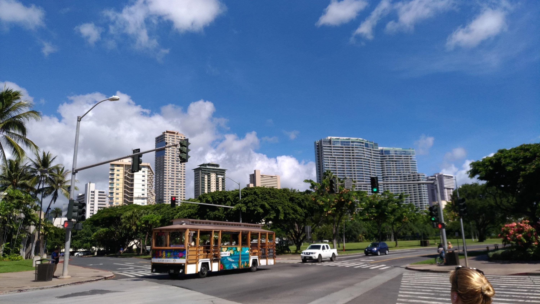 新婚旅行でハワイに行ってきました